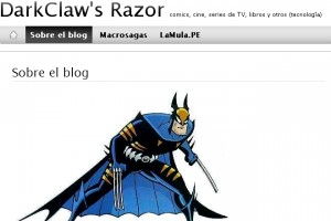 Mildemonios es mencionado: Darkclaw's Razor