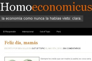 Mildemonios es mencionado: Homo Economicus